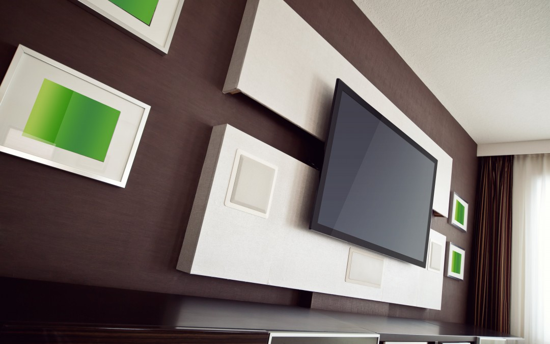 Where to put your flat tv screen